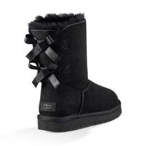 UGGS Bailey Bow Boots (black)